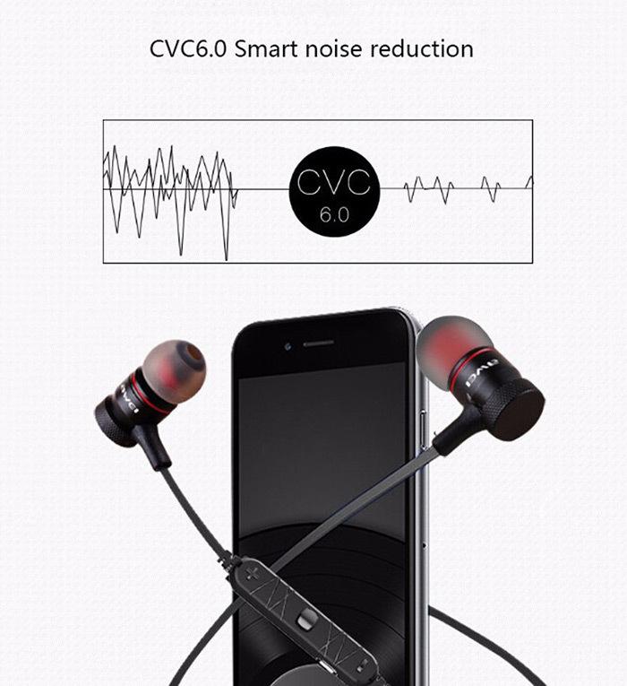 Awei A920BL Smart Wireless Bluetooth 4.0 Sports Stereo Earphone Noise Reduction wif Mic