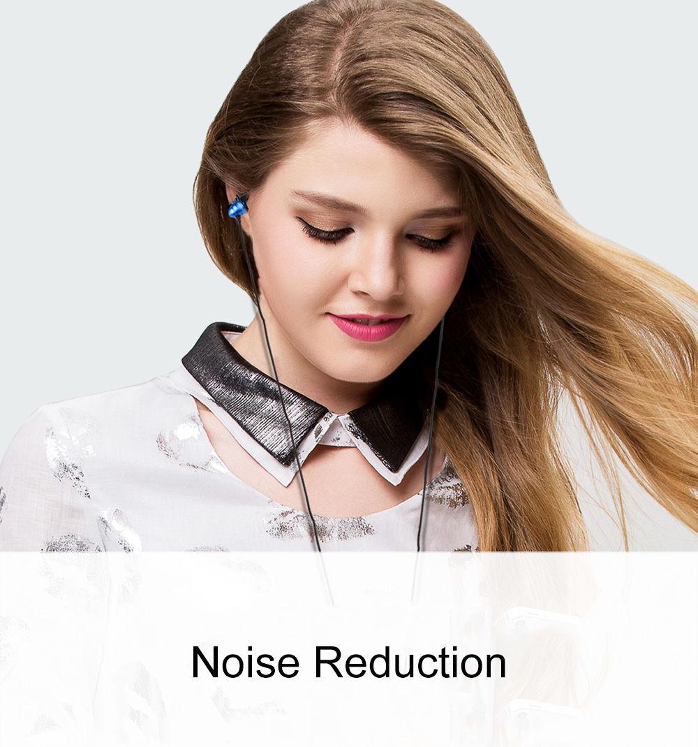 AWEI ES - Q2 3.5MM Plug Stereo Music Earphones Headphones