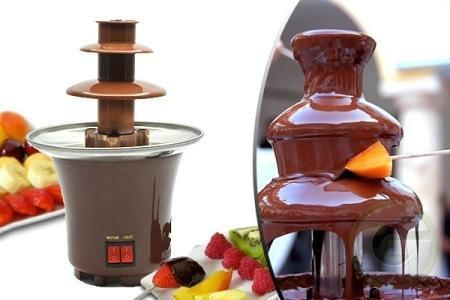 Mini Chocolate Fondue Fountain with 3 Tier Tower