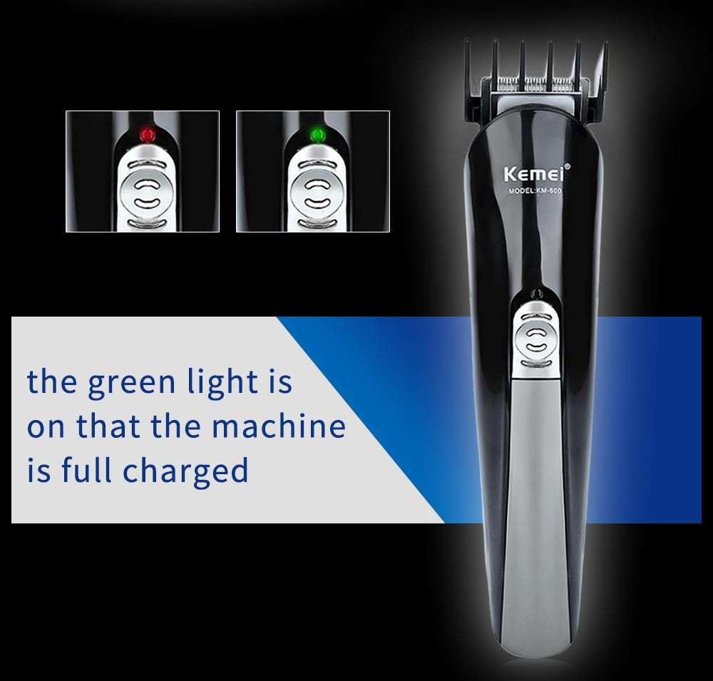 Kemei KM - 600 Professional Hair Clipper Electric Shaver Trimmer Cutters Set Family Personal Care