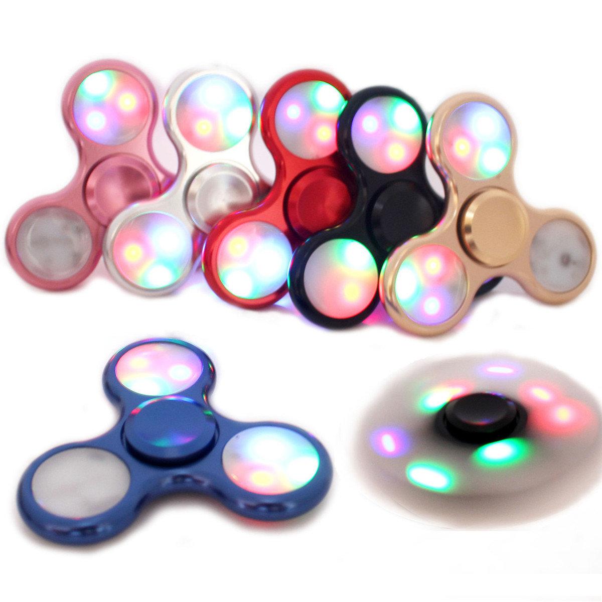 LED Light Fidget Spinner Finger