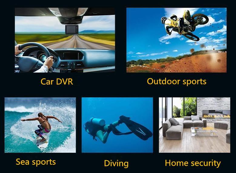 Remax SD-02 Mini Waterproof Sports Camera DV 4K Ultra HD WIFI Action Camera Car DVR