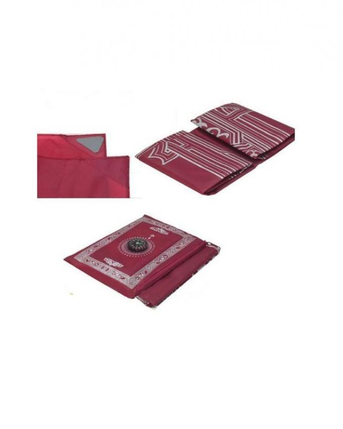 Waterproof Pocket Jaynamaz - Red