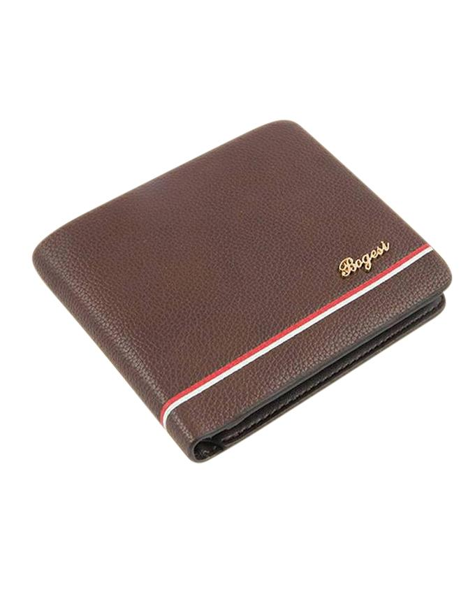 PU Wallet For Men - Chocolate
