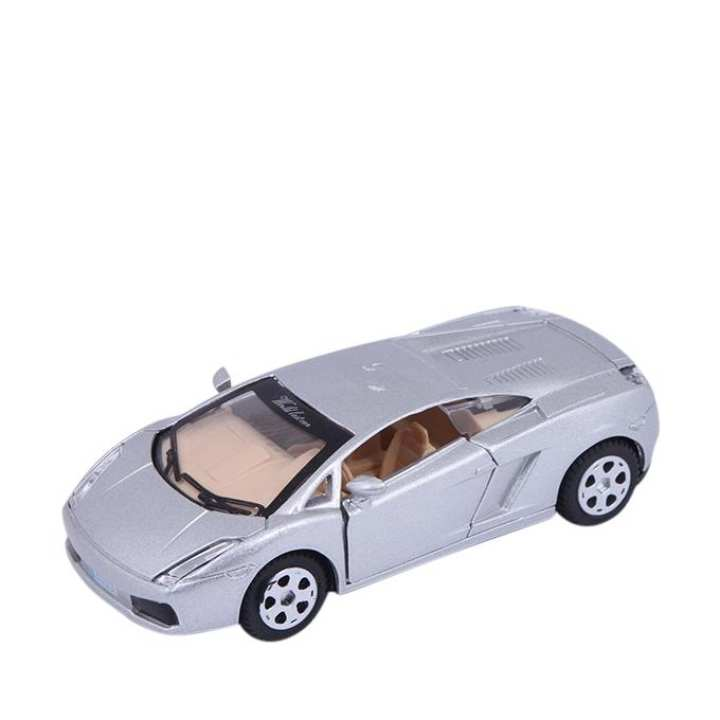 Metal Car - Silver