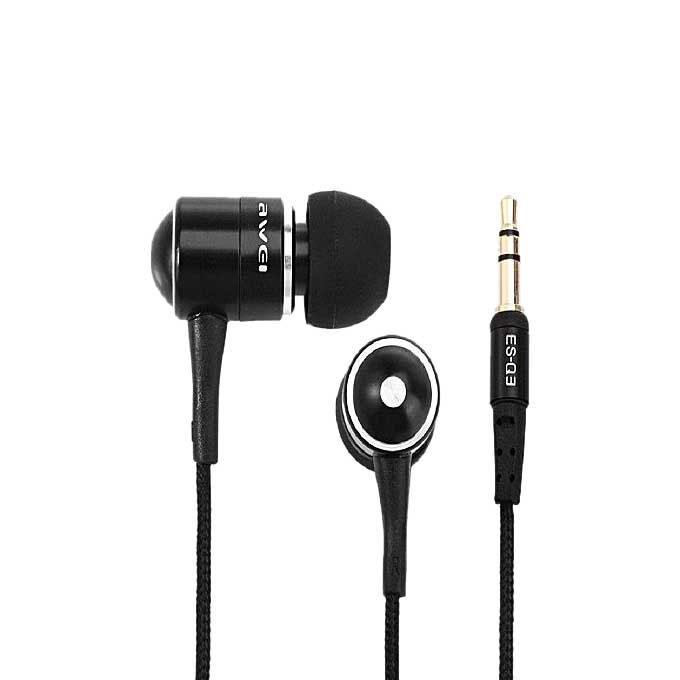 ES-Q3 In-ear Headphone - Black