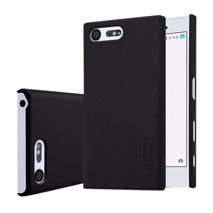 Super Frosted Shield Back Cover for Sony Xperia X - Black