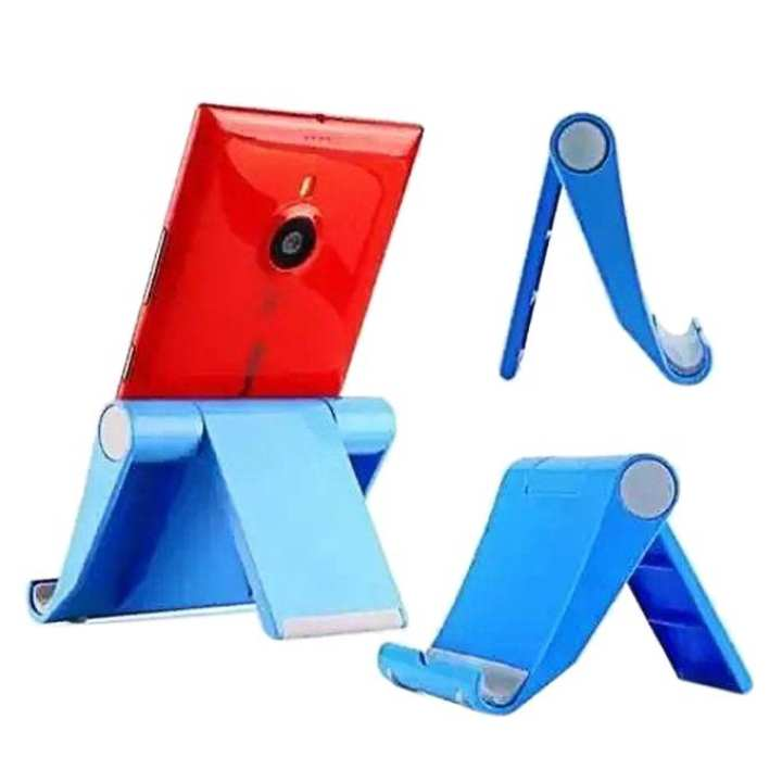 Universal Foldable Mini Stand Stents For Cell Phone iPHONE 6 Plus 4/5/5S Tablet – Blue