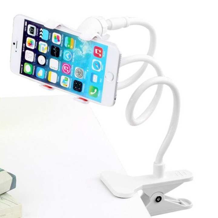 360 Rotate Mobile & Tablet Stand - White
