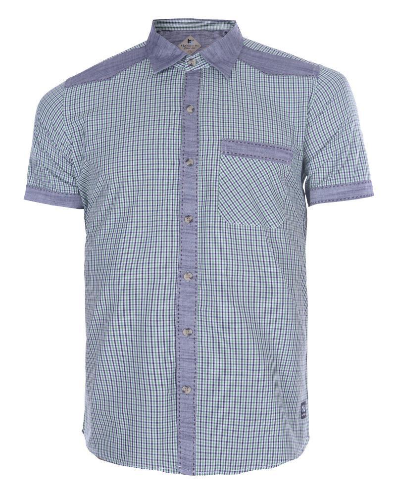 Linen Casual Short Sleeve Shirt - Green