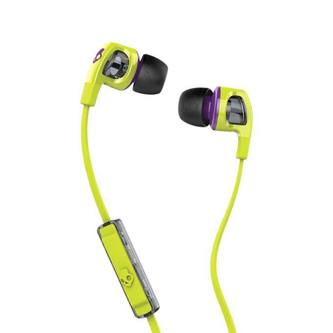 2 Earbud In-Ear Earphone - Black and Green