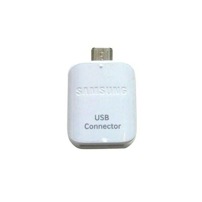 OTG USB Connector Adapter - White