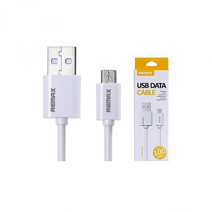Micro USB Fast Charger Cable - White