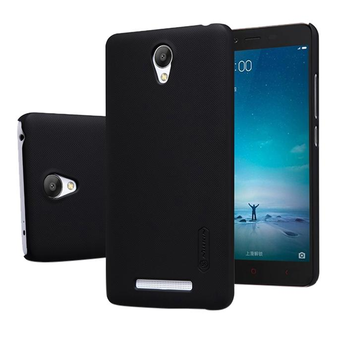 Super Frosted Shield Back Cover For XIAOMI RedMi NOTE2 - Black
