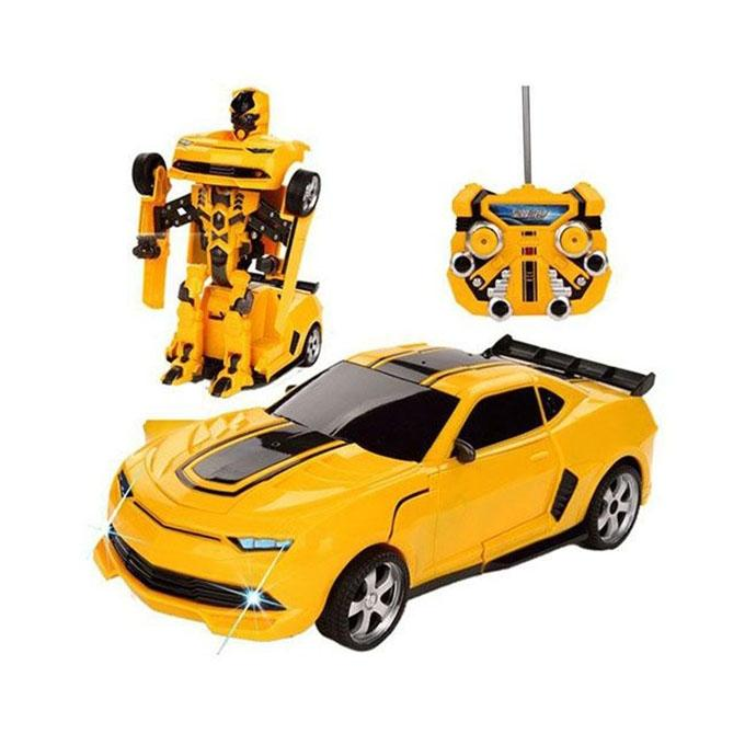 Remote Control Robot Car - Yellow