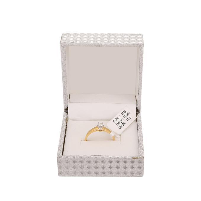 Diamond Gents Ring 1 Stone
