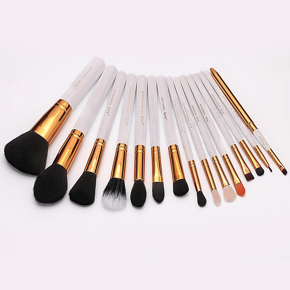 T103 15 PCs Essential Series Brush Set - White and Golden