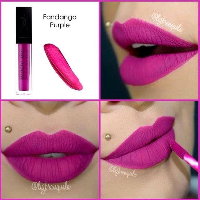 MakeUP Matte Me Lip Gloss - Fandango Purple