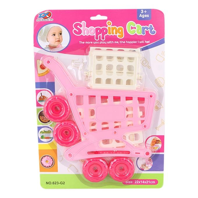 Shopping Cart Toy Set - Multi Color