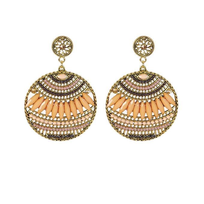 Golden Metal Earring for Women