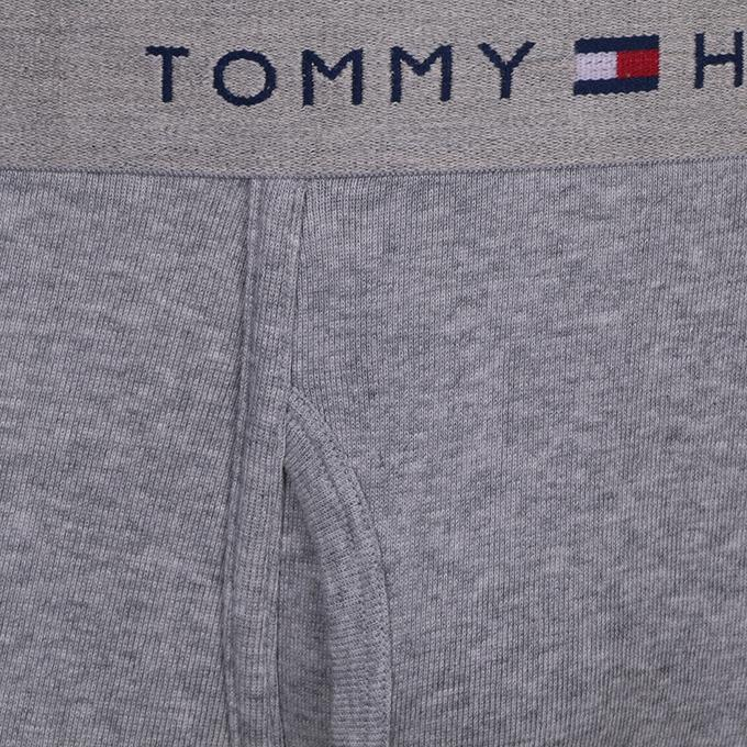 Light Gray Cotton Tommy Boxer Underwear For Men