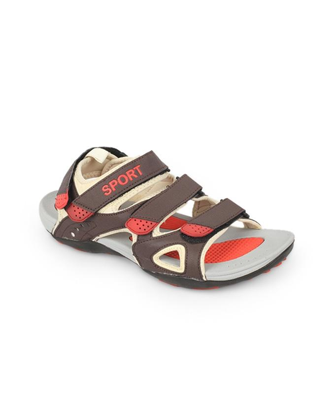 Brown Artificial Leather Sandal for Men - SPORTS 2