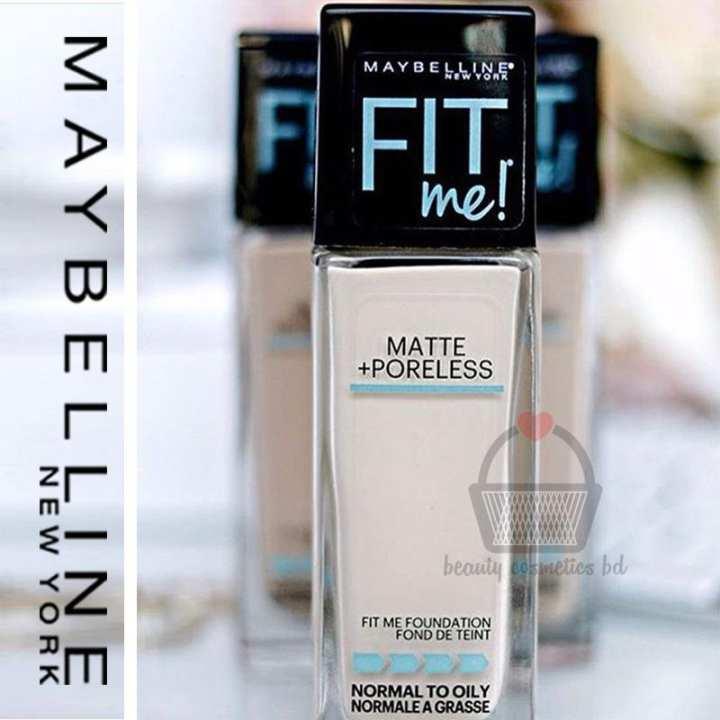 Fit Me Matte Plus Poreless Foundation - 230 Natural Buff