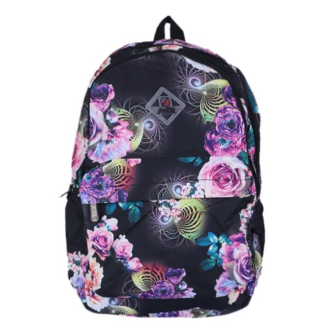 Polyester Backpack - Black