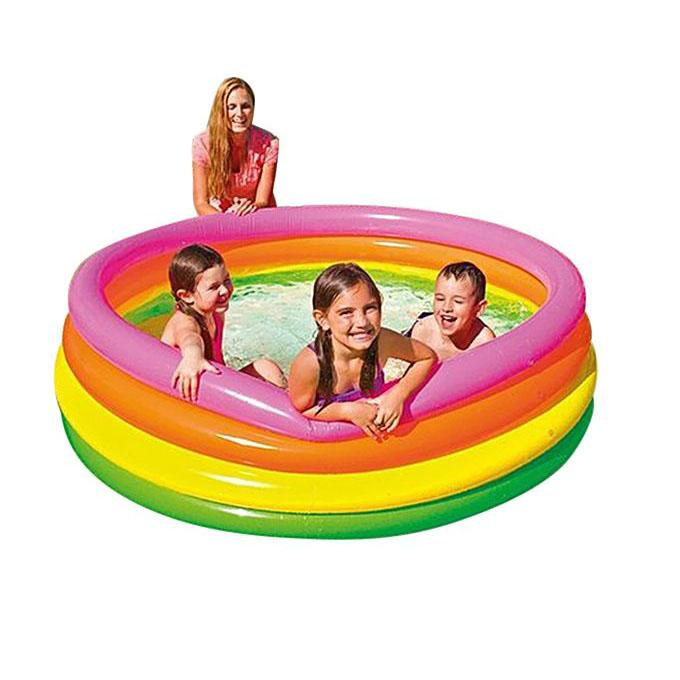Multi Color Inflatable Swimming Pool For Babies