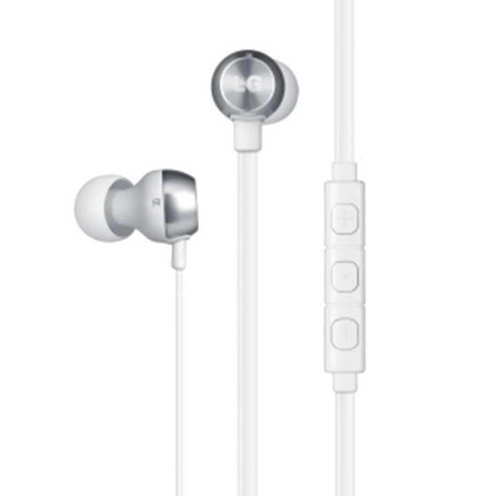 In Ear Handsfree Premium Earphone G2 Quadbeat 2 - White
