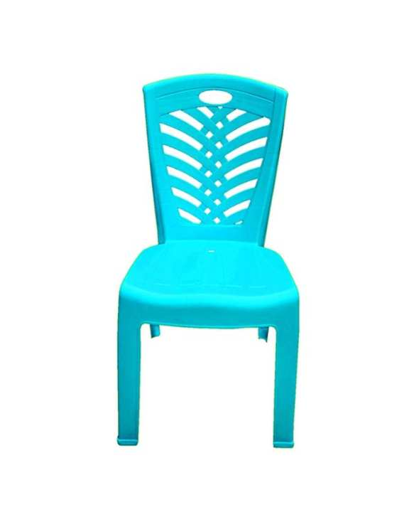 HPF01-05 Plastic Dining Super Chair - Sky Blue