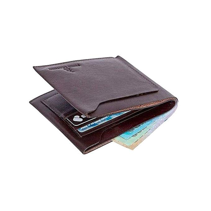 Coffee Leather Wallet For Men