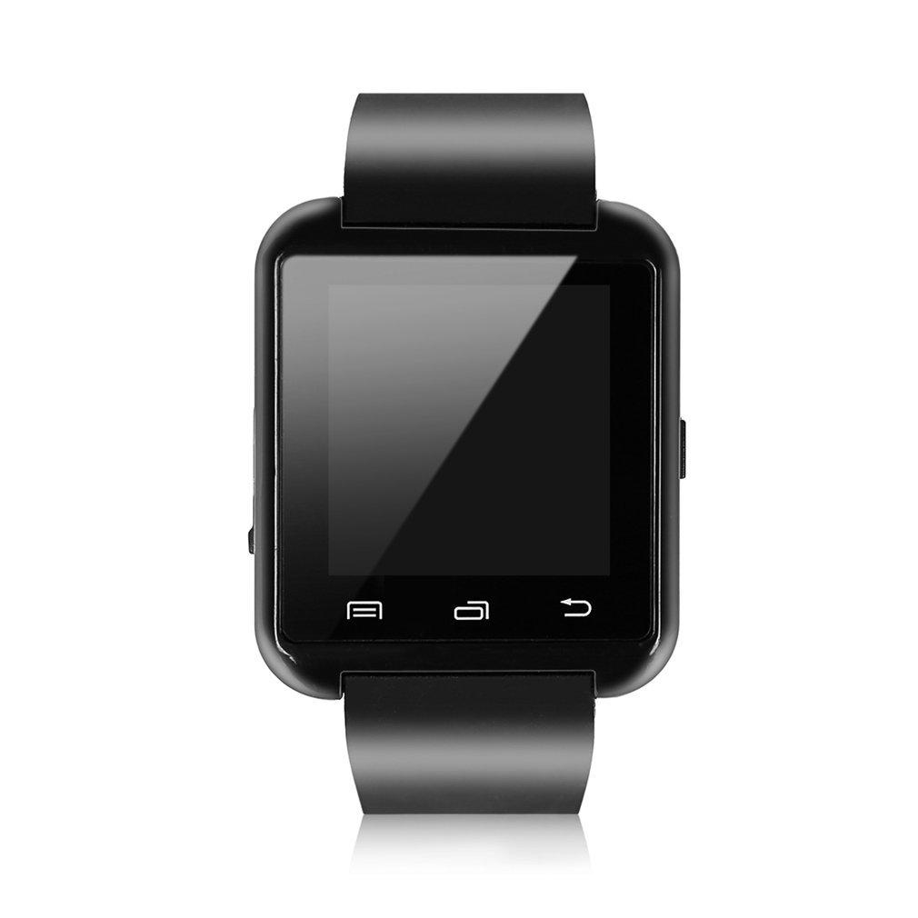 Bluetooth Smart Wrist Watch Phone Camera Card Mate For Android Smart Phone Black