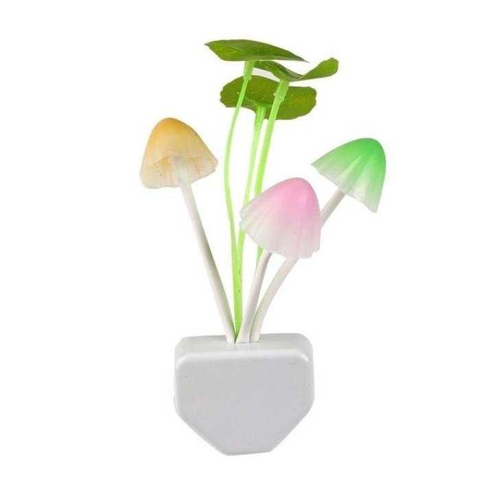 Colorful LED Mushroom Night Light - Multi Color