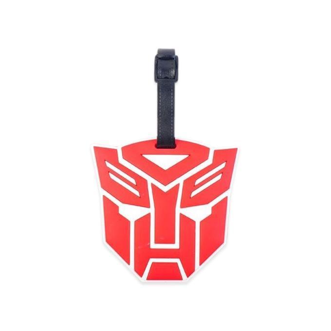 de326f696bf4 Red Megatron Luggage Tag ID Address Holder