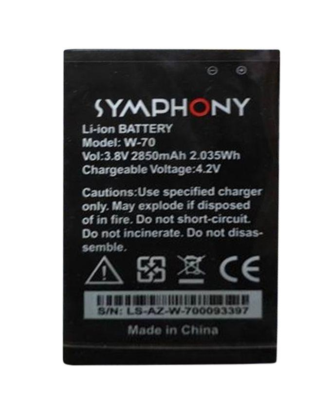 Mobile Battery for Symphony W 70 - 2850mAh