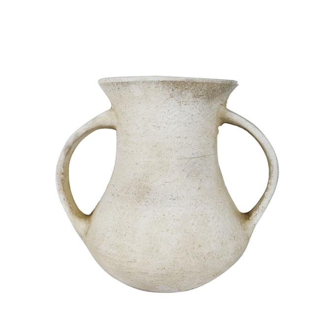 Accent Ceramic Vase - Light Grey