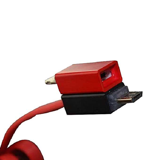 Shadow Magnet 2 in1 Data Cable -red