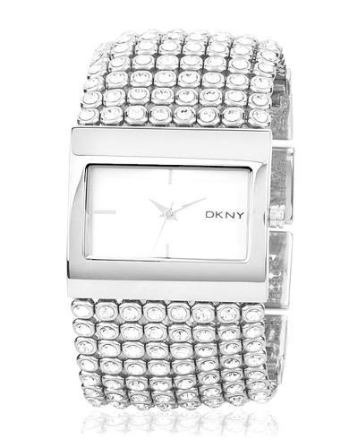 NY4661 Stainless Steel Analogue Watch - Silver