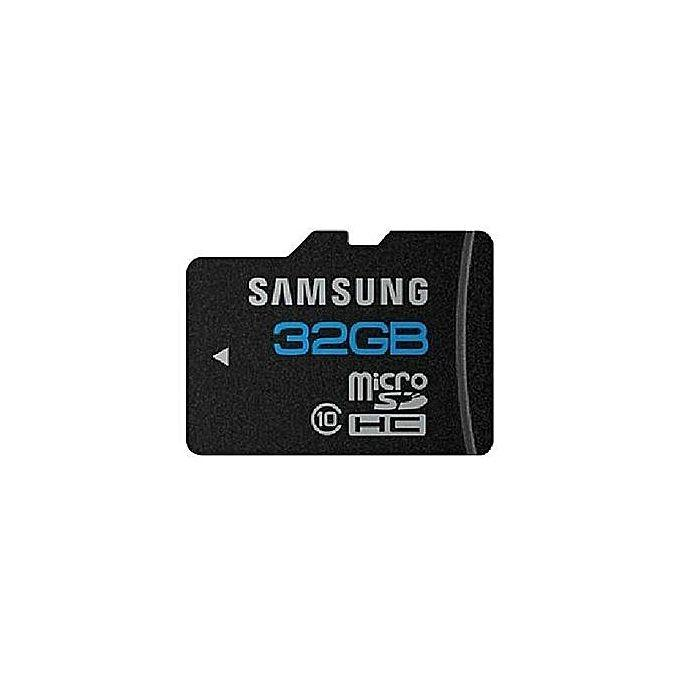 Samsung 32GB Class 10 Micro SD Memory card - Black
