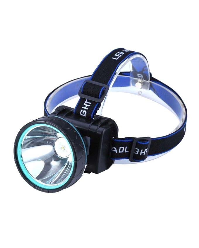 Rechargeable LED Head Lamp - Black