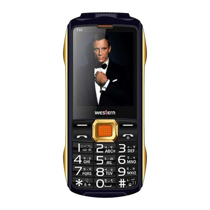 "Western D-39 - Feature Phone - 2.8"" - 32MB RAM - 32 MB ROM - Black"