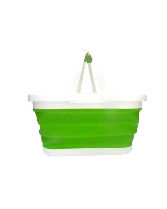 Multi-function Folding Basket - Green And White