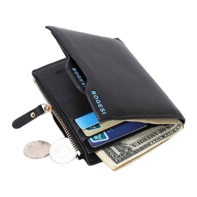 Black Leather Wallet For Man