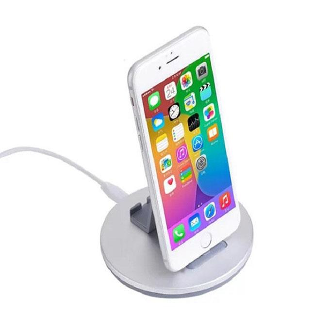 CW1 8 Pin Charging Dock for iPhone - White