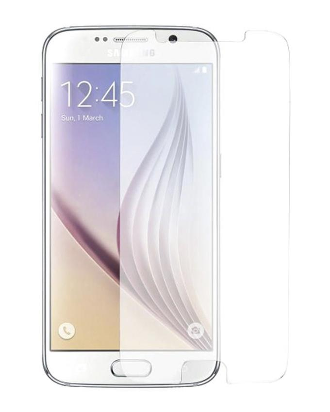 Tempered Glass Screen Protector For S6 - Transparent