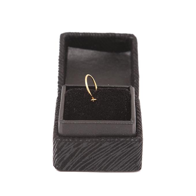 Gold Noth Solid Round Ring