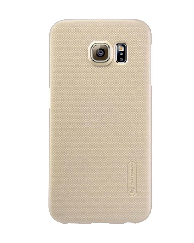Samsung Galaxy S6 Edge Super Frosted Shield Back Case - Golden