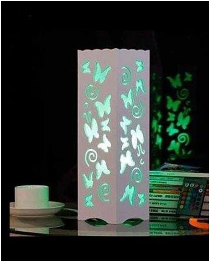 Creative Butterfly Desk Lamp - White