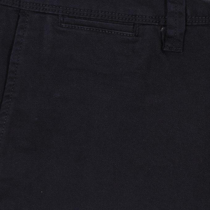 Black Cotton Gabardine Pant For Men